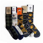 Custom Custom Knit Wool Crew Business & Dress Socks