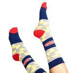 Custom Crew Length Cotton Custom Socks - ECONOMY