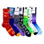 Custom Custom Knit Nylon Crew Athletic, Performance, and Sports Socks