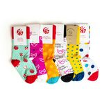 Custom Crew Length Cotton Custom Socks (Youth Size)