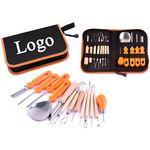 Custom 14 Piece Professional Pumpkin Cutting Kit