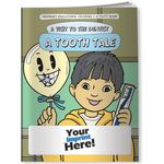 Custom Coloring Book - A Visit to the Dentist A Tooth Tale