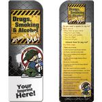 Custom Bookmark - Drugs, Smoking, and Alcohol Aren't for Me!