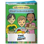 Custom Coloring Book - Feel Good! Eat Healthy! (Spanish)
