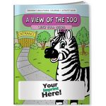 Custom Coloring Book - A View of the Zoo with Zola Zebra