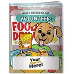 Custom Coloring Book - Make a Difference and Volunteer!