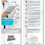Custom Pocket Slider - Heart Attack and Stroke Symptoms and Warning Signs