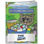 Custom Coloring Book - Meet Rocky the Recycling Raccoon