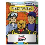 Custom Coloring Book - Firefighters in Uniform