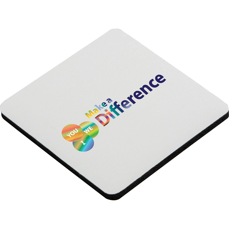 Square Foam Coaster (Full Color)