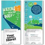 Custom Pocket Slider - Water for a Healthy Body