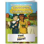 Custom Coloring Book - Thanksgiving Celebration