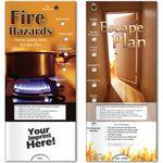 Custom Pocket Slider - Fire Hazards Home Safety with Escape Plan