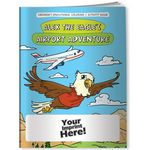 Custom Coloring Book - Alex the Eagle's Airport Adventure