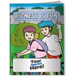 Custom Coloring Book - Fitness is Fun