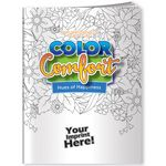 Custom Color Comfort Coloring Book - Hues of Happiness (Flowers)