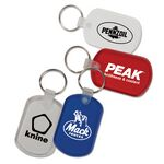 Custom Oval Key Tag