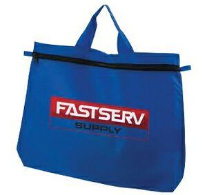 Zipper Attaché Tote Bag (Full Color)