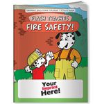 Custom Coloring Book - Flash Teaches Fire Safety!
