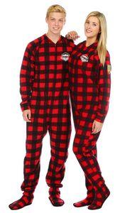 Buffalo Check Footed Pajama