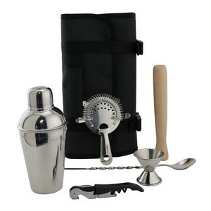 Merit Cocktail Tool Roll-Up Travel Pack