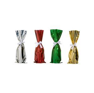 Mylar Wine Bags W Ribbons
