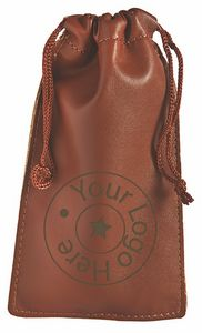 21470f477e17 Leatherette Pull String Pouch - 90-0404 - IdeaStage Promotional ...