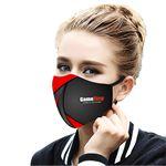 Adjustable 3 Layer Cooling Face Mask with filter pocket