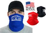 USA Made Screen Printed Neck Gaiter Tube Bandanna