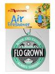 Air Freshener Die Cut Full Color Prepackaged Custom Card Stock
