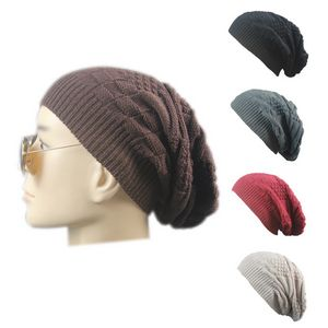 Knit Slouchy Thick Skull Cap - F517070 - IdeaStage Promotional Products 29514590eb9