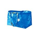 Custom Jumbo Plastic Storage Laundry Shopping Bags with Strong Handles /Thick Organizer Storage Bag