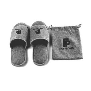 076bb916d Portable Slipper with Bags - F512150 - IdeaStage Promotional Products