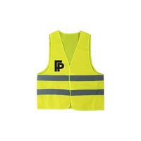 Reflective Safety Vest with Pouch