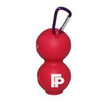 Golf Ball Silicone Cover with Key chain Ring /Golf Ball Hold