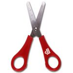 Student's Safety Scissors with rule / Office Scissors / Utility Scissors