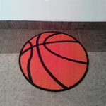 Custom Latex Rubber Backing Non-Slip Features Logo Mats