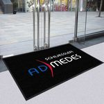 Custom 4'x8' Indoor Entrance Custom Made Logo Mats