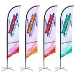 15' Single Sided Fiber Glass And Aluminum Sail Banner