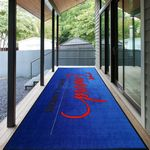 Custom 7' X 20' Nylon Surface Mat Runner For Entrance Use