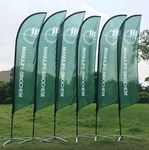 17' Single Sided Fiber Glass And Aluminum Sail Banner