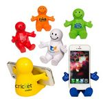 Custom Happy Dude Mobile Device Holder Stress Reliever