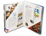 Custom 8-Page 80# Coated Text Booklet