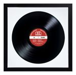 Custom Personalized Black Framed Records