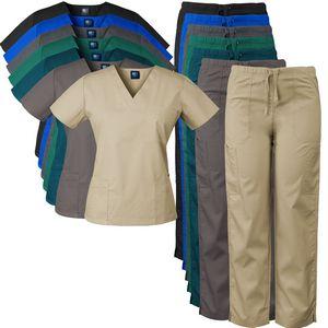 Custom Medgear Women's Scrubs Set (3 Pockets/Pencil Pocket)