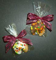 Autumn Leaf Fortune Cookies