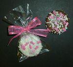 Breast Cancer Awareness Fancy Sandwich Cookie