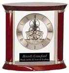 Custom Executive Rosewood Piano Finish Clock