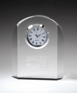 Royal Crystal Desktop Clock