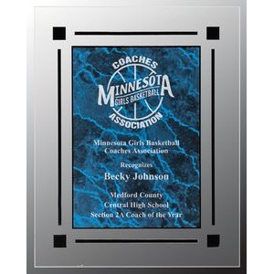 Blue Marble Acrylic Plaque
